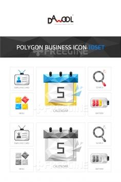 아이콘 폴리곤 비즈니스2 (yuni)