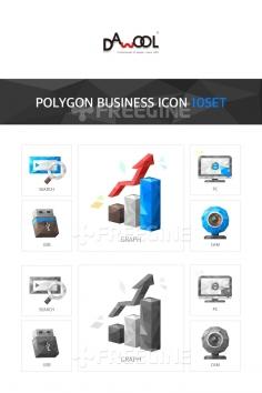 아이콘 폴리곤 비즈니스1 (빈나)