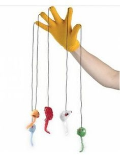 How to Make a Cat Toy Glove