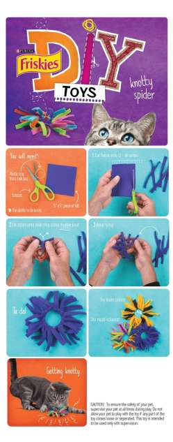 DIY Homemade Cat Toys
