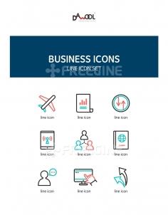 아이콘 라인 비즈니스14 (yuni)