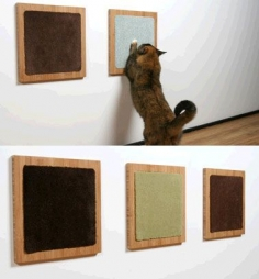 Itch Cat Scratch Pad by Square Cat Habitat