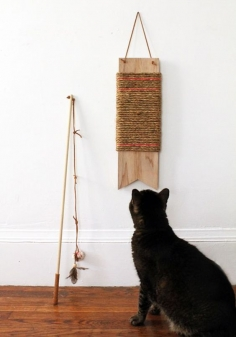 DIY Scratch Pad For Your Cat By DIY Ready
